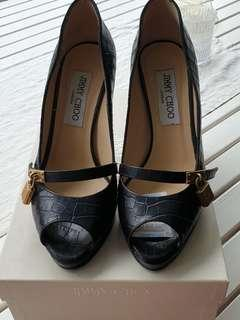 Limited Edition Jimmy Choo Heels (Croc Skin)