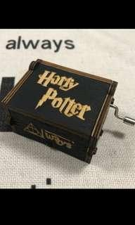 (SALE) Harry Potter Hand wind musical box
