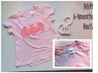 H&M batman shirt