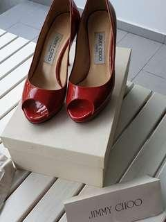 Jimmy Choo Luna Red Heels