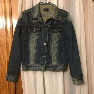 Dark jean jacket size M