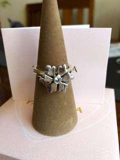 Pandora Size 58 Snowflake Ring Retired