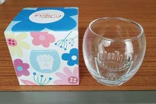 2019麥當勞媽咪會薯條圖案玻璃杯300毫升 2019 McDobald's Mother's Club French Fries Glass 300ml