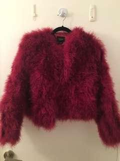 Brand new mylamarque feather jacket