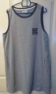 Brand new grey sporty dress