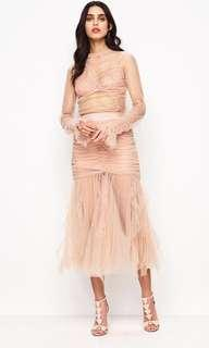 Alice McCall Nude Skirt just can't help it RENT