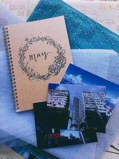 🚚 Christmas gift (customised notebook )