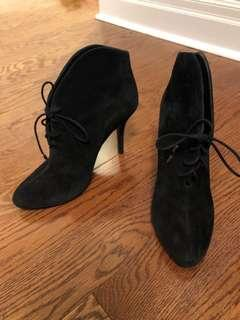 Vince Camuto Genuine Suede Booties - size 39.5