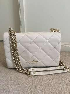 KATE SPADE Beige Quilted Bag