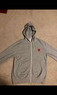 CDG Grey Hoodie