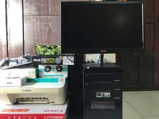 Komputer/PC for Designer/Gamer/Basic User (1set)