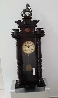 Antique German wall clock