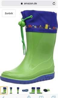 Rain boots for boy