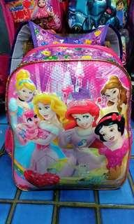 Tas Sekolah Princess Pink Ungu