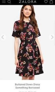 Floral Button Down Dress