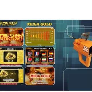 MEGA GOLD Metal Gold Detector