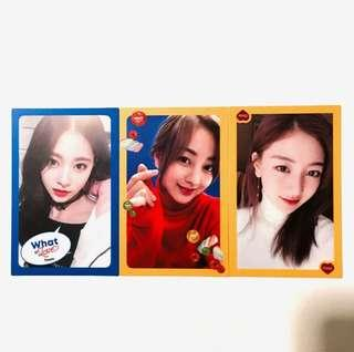 ❗️CLEARANCE❗️Twice What Is Love Photocards/PCs