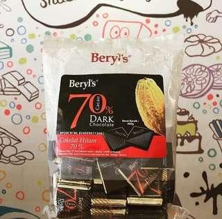 COKLAT BERYL'S 70%
