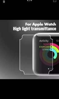 Anti-Scratch TPU Soft  Protective Film For Apple Watch