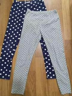 Combo Leggings padini 11y