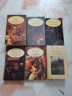 Book sale $2 each or 3 for $5