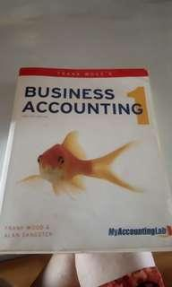 Business Accounting 1 Frank Woods