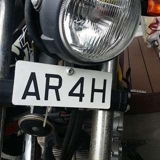 Carplate AR4H