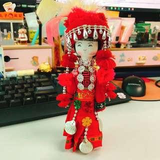 Traditional Chinese wooden doll
