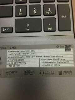Spoilt acer laptop due to motherboard
