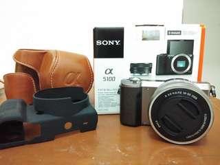 kamera mirrorles sony a5100
