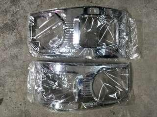 Hiace front chrome cover