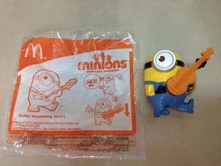 🚚 麥當勞小小兵兒童玩具 有聲音樂吉他