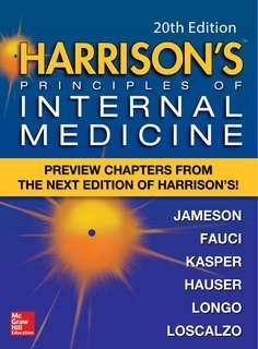 Harrison's Principle of Internal Medicine (20th edition)