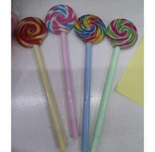 Lollipop Sign Pen (12pcs for 180 pesos only)