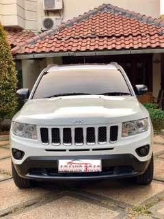 Jeep Compass 2,4L AT 2012 White Limited