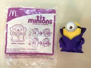 🚚 麥當勞小小兵兒童玩具 嘿嘿吸血鬼