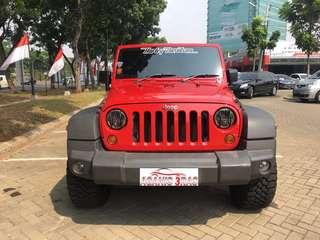 Jeep Wrangler JK Red 2doors 3,6 V6 2007