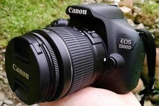 Kredit camera dslr canon 1300D, free 1x cicilan