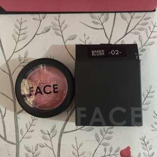 AUTH Focallure Baked Blush