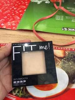 Maybelline Fit Me Set Smooth Compact Powder 130 BUFF BEIGE