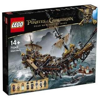 Leeogel Lego Pirates of The Caribbean 71042 Silent Mary - New In Sealed Box