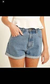 A brand Denim Shorts
