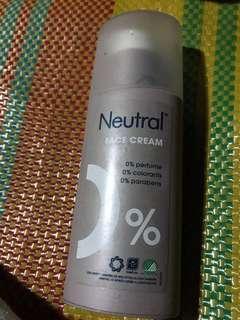 Neutral Face Cream Moisturizer