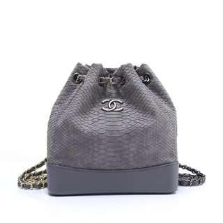 CHANEL bag Leather material Wandering backpack