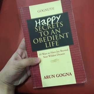 Happy secrets to an obidient life book