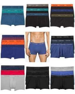 Calvin Klein Underwear SPECIAL SALE 明天截! 最低每條$67!