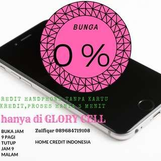 Kredit handphone proses 3 menit promo bunga 0%