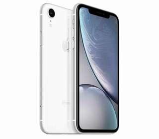 Kredit Apple iPhone XR 128GB Dual Sim White Bisa Bunga 0%