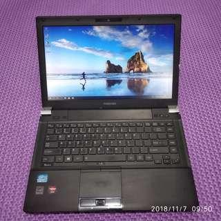 Laptop Toshiba Tecra R940 Core I5 3340 Ram 6GB HDD 320GB