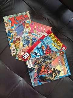 Spider-Man & X-Men Marvel Comics